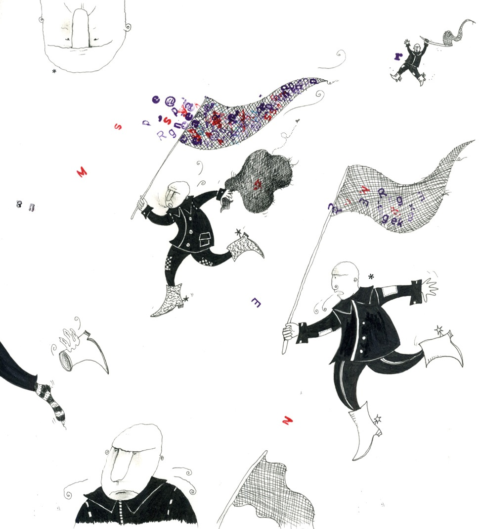pentekening ets lino grafisch illustrattie educatief